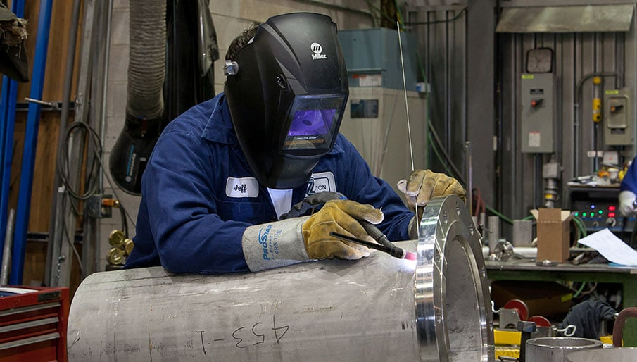 Fabrication Of High Pressure Reactor (Photo Courtesy Of Ryder Photography)